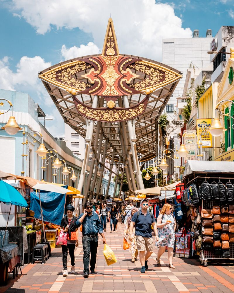 Central Market - Free Things To Do In Kuala Lumpur | Malaysia travel. Kuala lumpur travel. Asia travel