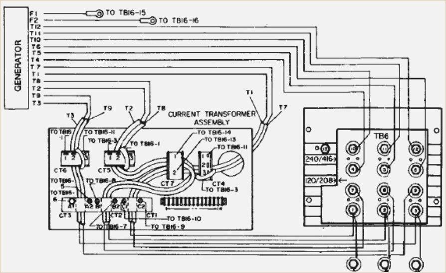 Portable Generator Wiring Schematic