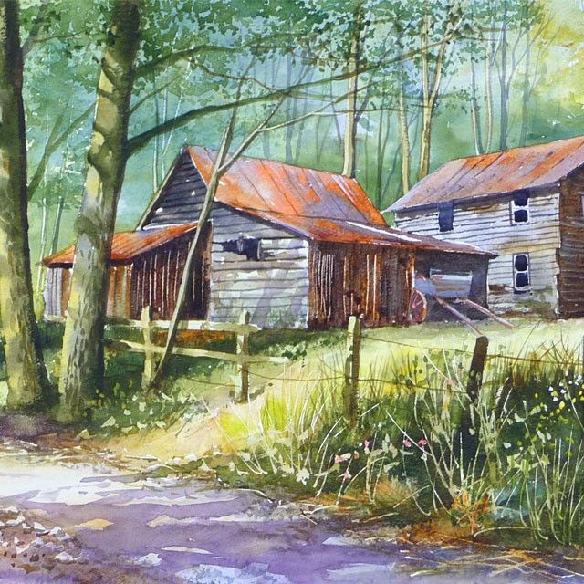Pin By Jerry Patton On Paintings--Gardens And Old