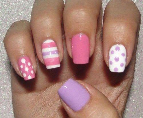 15-Easter-Color-Nail-Art-Designs-Ideas-2017-14 | nail designs ...