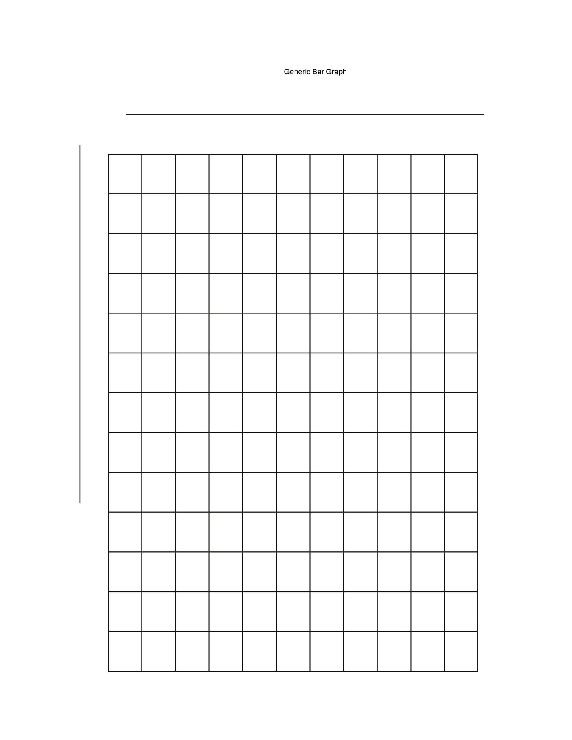 Double Bar Graphs Worksheet 41 Blank Bar Graph Templates