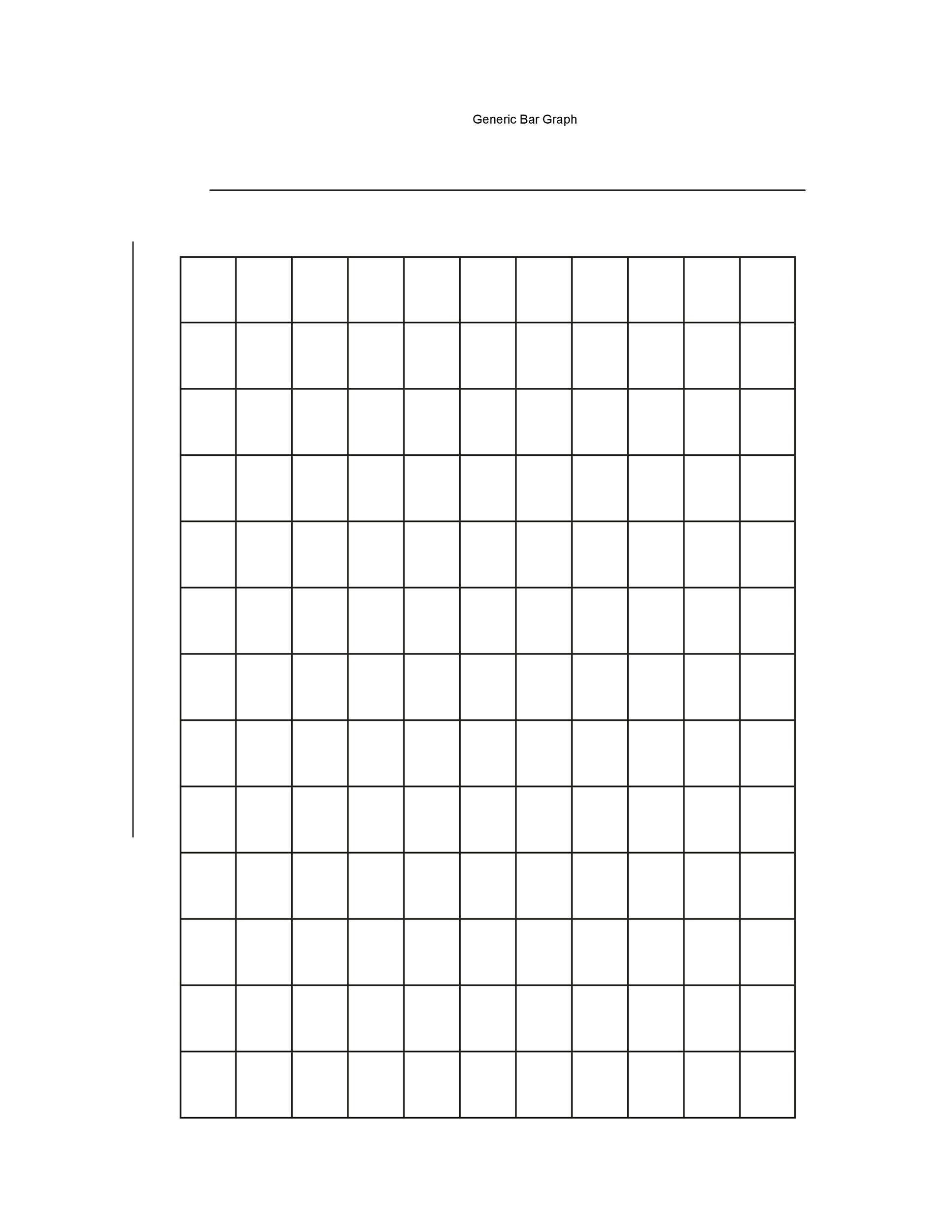 Double Bar Graphs Worksheet 41 Blank Bar Graph Templates