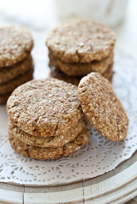 Quinoa, Oats & Spelt cookies