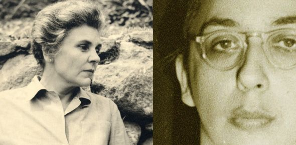 "American poet ELIZABETH BISHOP and the Brazilian architect LOTA CE MACEDO SOARES - there is now a film out about their love affair, called ""Reaching for the Moon."""