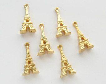 eiffel tower pendants – Etsy