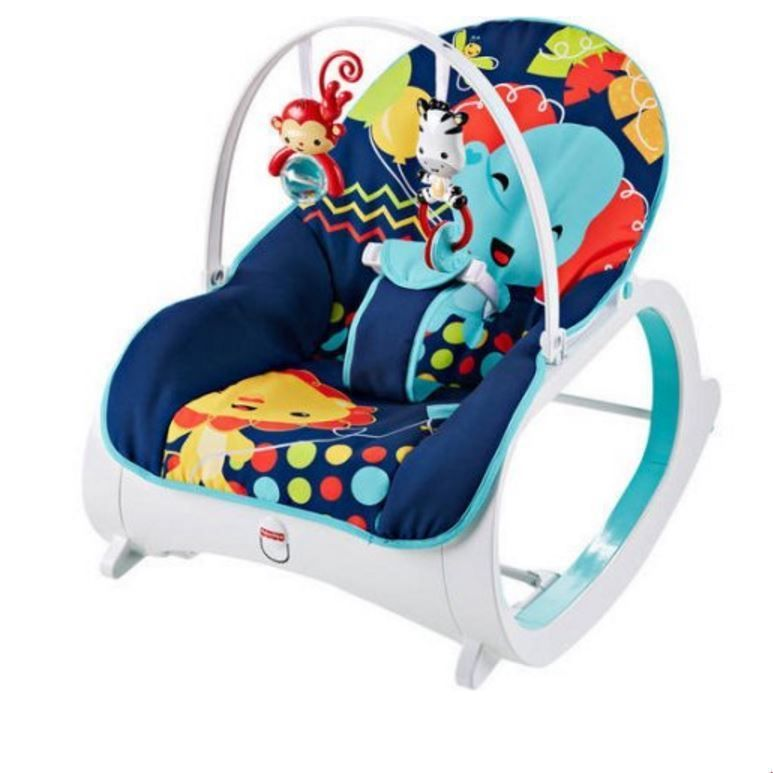 Fisher Price Infant To Baby Seat Bouncer Toddler Rocker