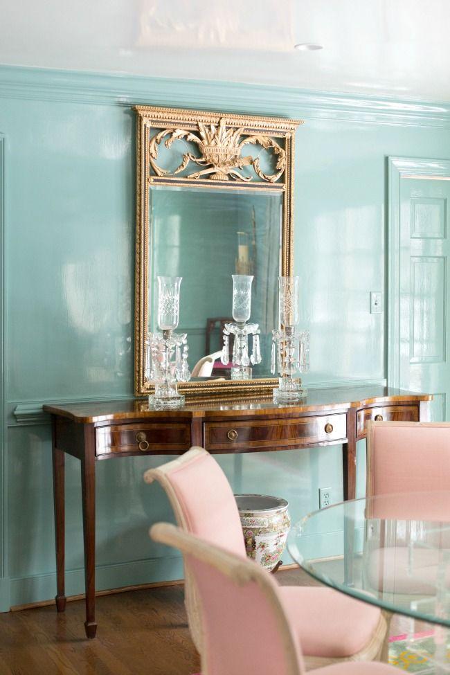 Meet allison purcell beautiful paint colors and blue Beautiful paint colors for dining rooms