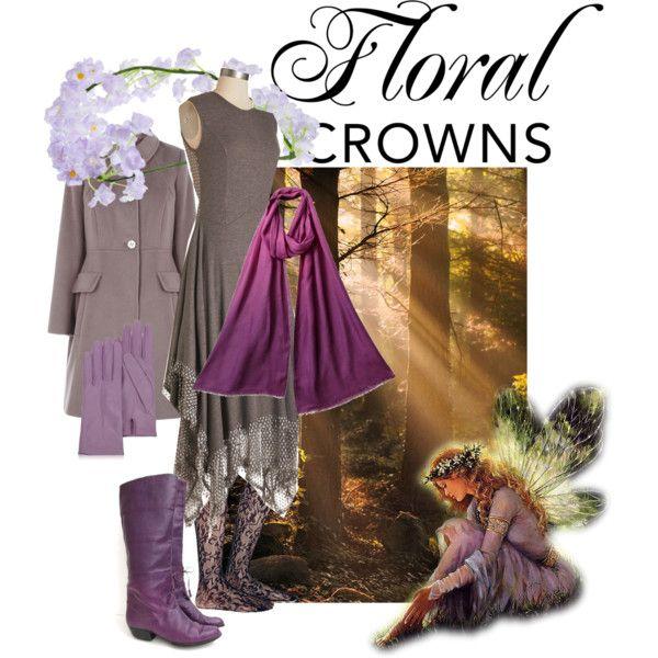 """Woodland princess"" by maria-kuroshchepova on Polyvore"