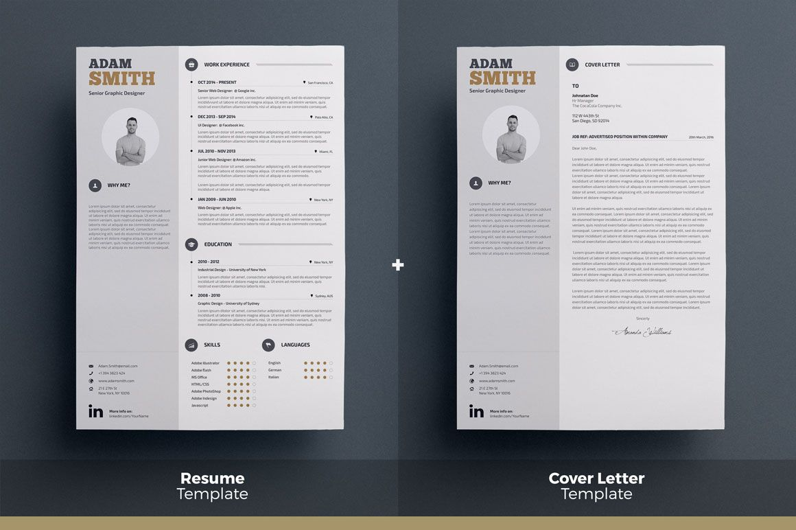 Download Infographic Resume/Cv Volume 5 Graphic Templates by ...
