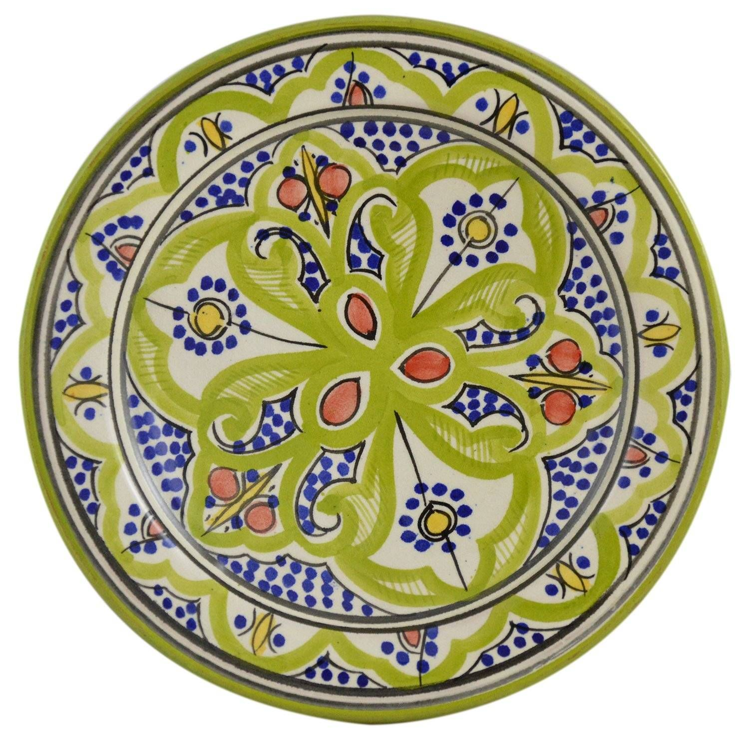 Picturesque Moroccan Decorative Wall Plates With Images Plates