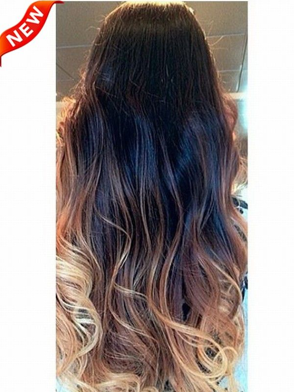Ombre Indian Remy Clip In Hair Extensions M1b27s27h30 M1b27s27h30