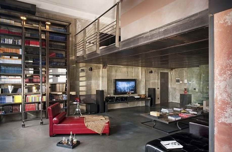 Pin by Koo Yi Jing on living/dining   Pinterest   Industrial house ...