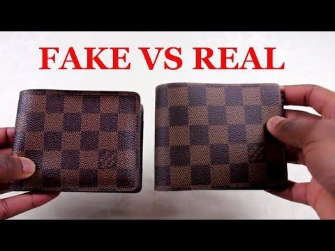 65a932e2a882 Real vs Fake Louis Vuitton Damier Agenda fonctionnel PM Diary cover R20700  LV - YouTube