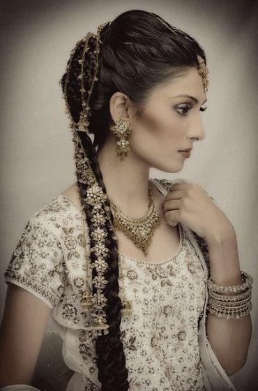 Pin On Indian Bride Hair Braid South Asian Wedding Angela Tam Makeup Artist And Hair Team La Oc