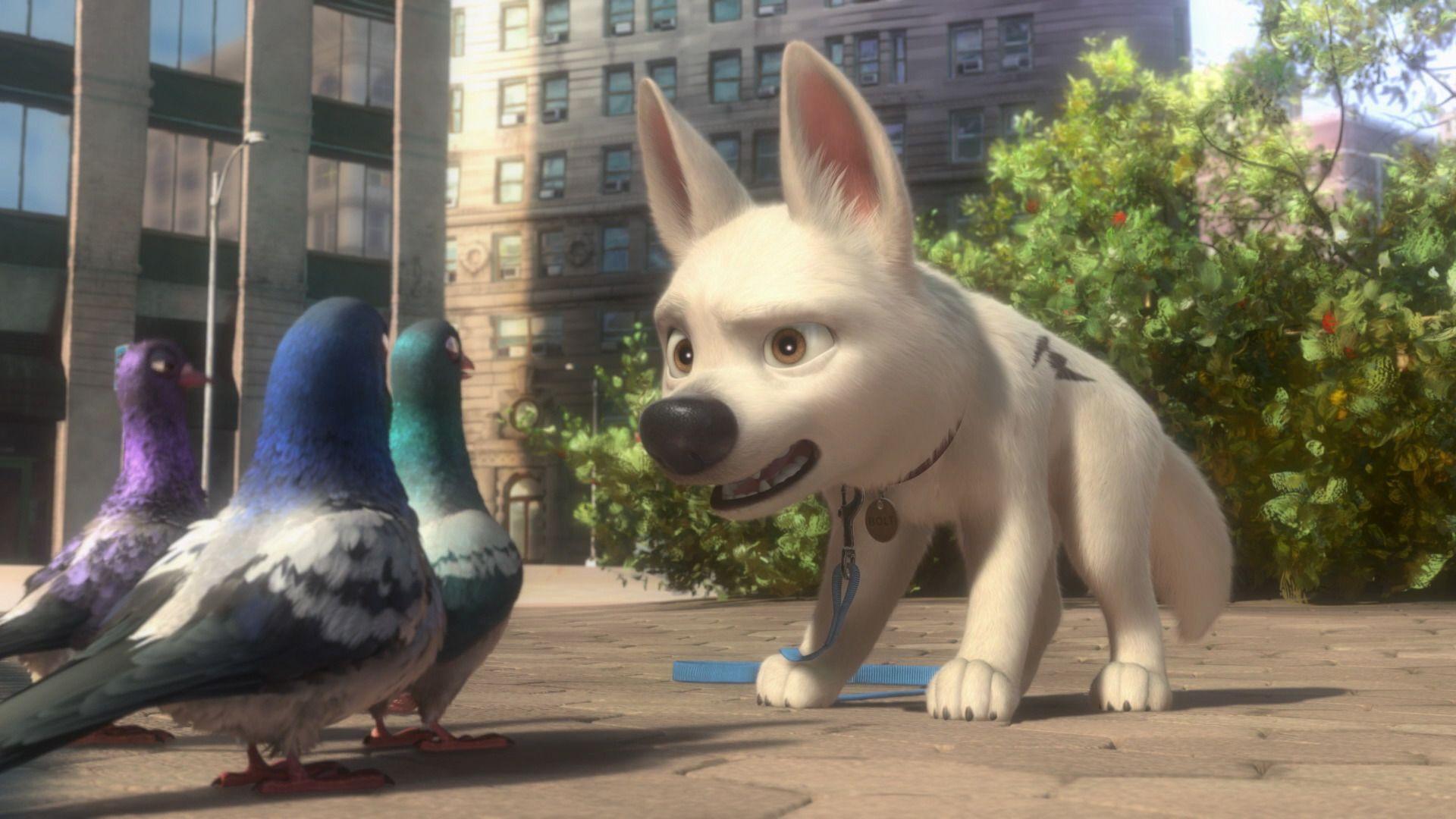 Disney bolt dog bolt film