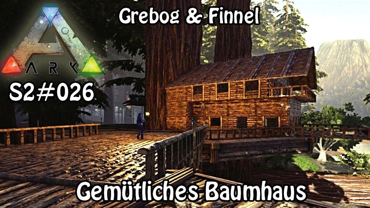 Gemütliches Baumhaus Arksurvival Evolved S20026 Mit Grebog