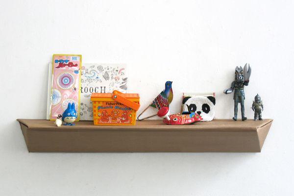 étagère plick en carton studio LO