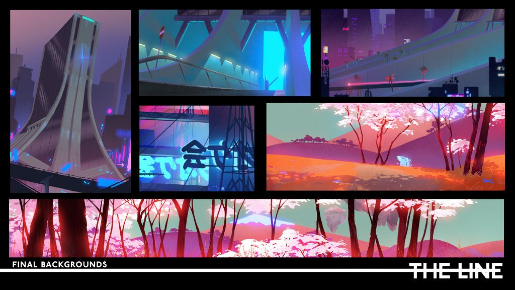 Background For Easy Mat Zo Porter Robinson Official Video From The Line Porter Robinson Environment Painting Environment Concept Art