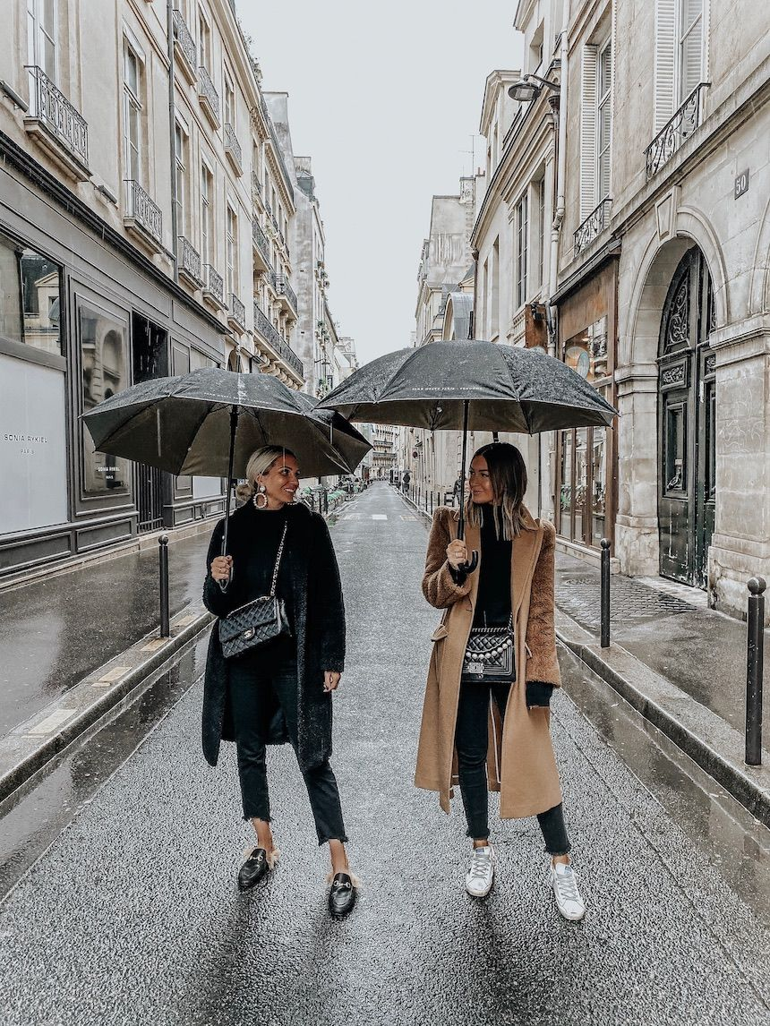 What We Wore In Paris #rainydayoutfitforwork