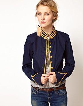 ralph lauren army jacket