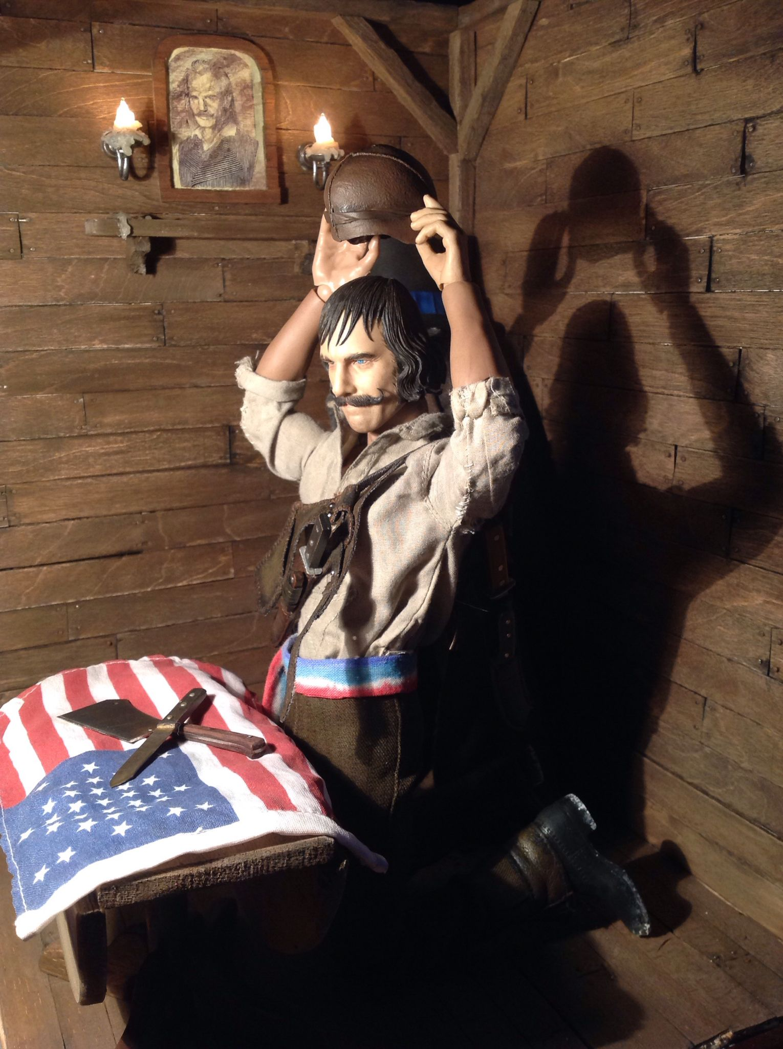 Bill The Butcher William Poole Diorama Gangs Of New York