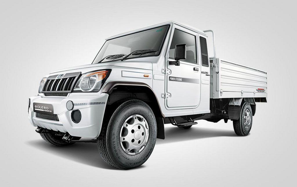 Mahindra Big Bolero Pik Up Launched At Inr 6 15 Lakhs With Images