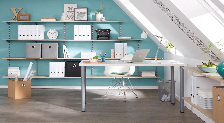 Buro Dachschrage Mobelmix Pinterest Home Office Home Und Home