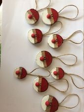 Adventsdekoration, Geschenkverpackungsidee, Weihnachtsdekoration Idee - Weihna... - KATHRİN H...