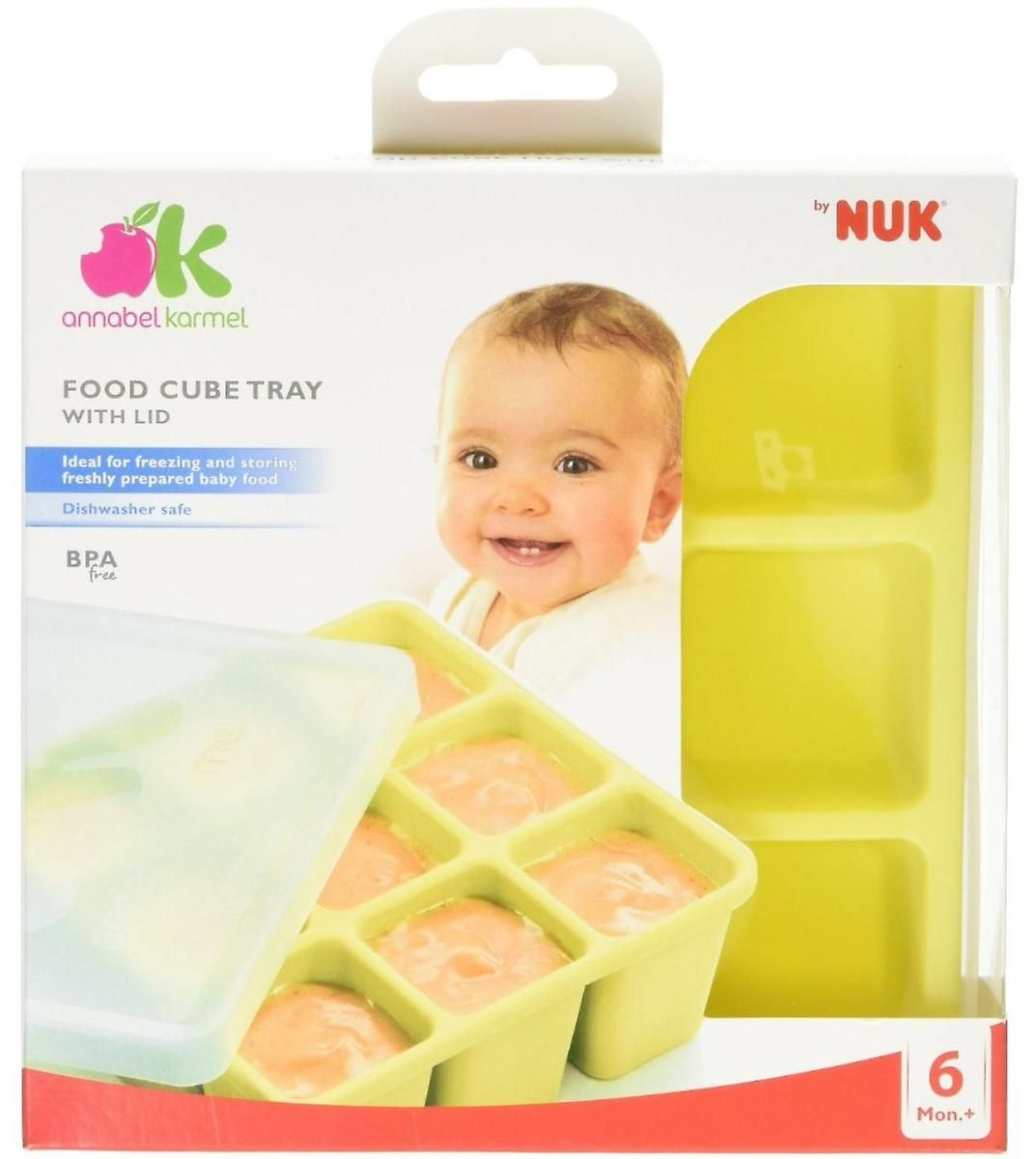 Annabel Karmel By Nuk Food Cube Trays 3x3 Baby Food Storage