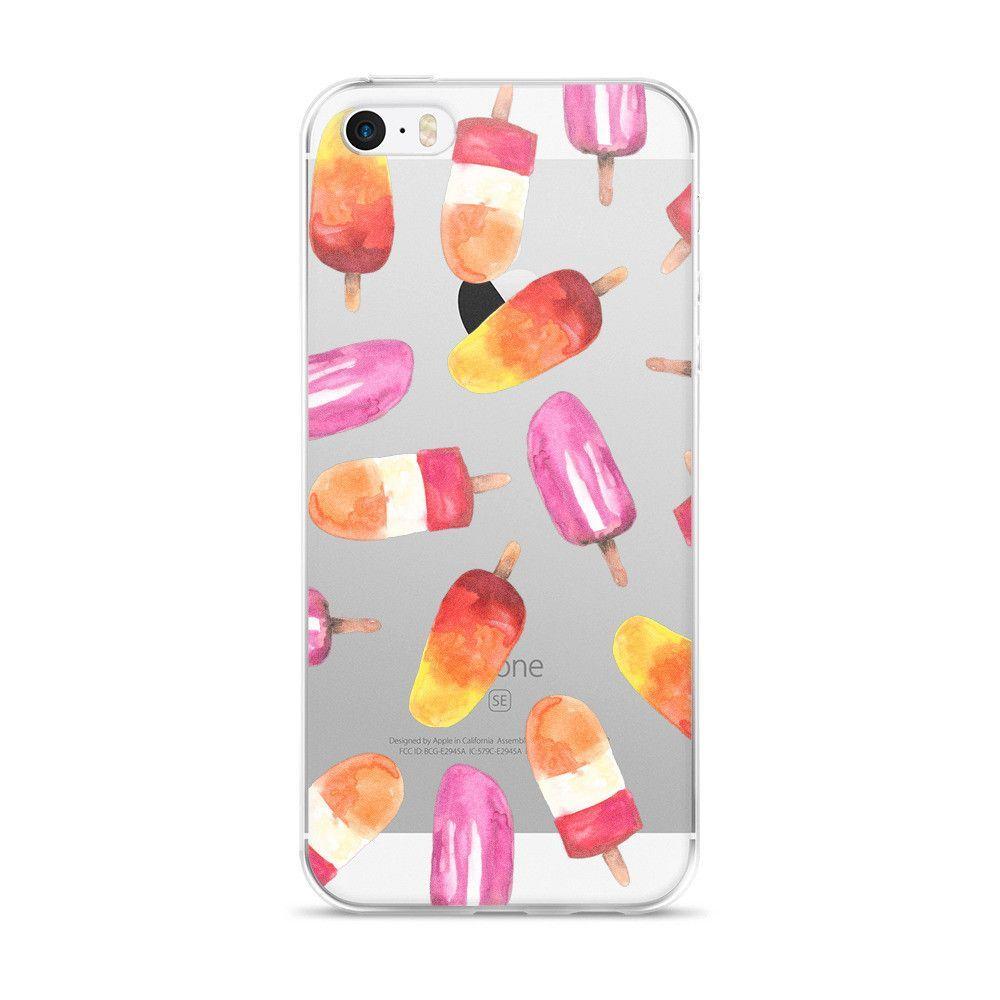 Watercolor Ice Popsicle iPhone 5/5s/Se, 6/6s, 6/6s Plus Case