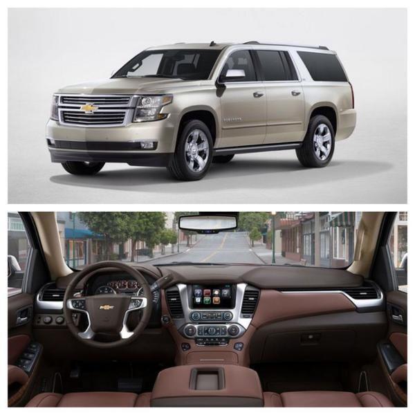 Big SUV Brawl: 2015 Chevrolet Suburban Vs 2014 Chevrolet