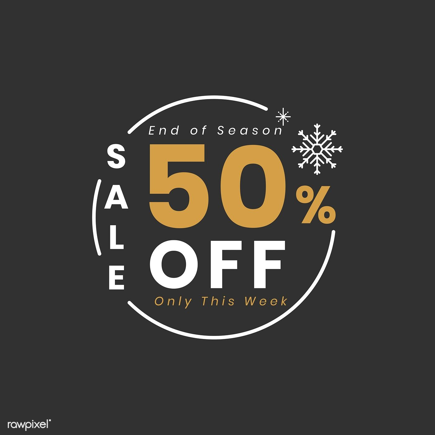 Christmas Special Sale 50 Off Vector Free Image By Rawpixel Com