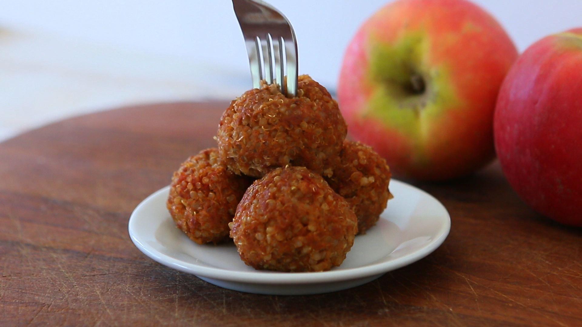 Quinoa beef meatballs recipe - baby finger food | Recipe ...