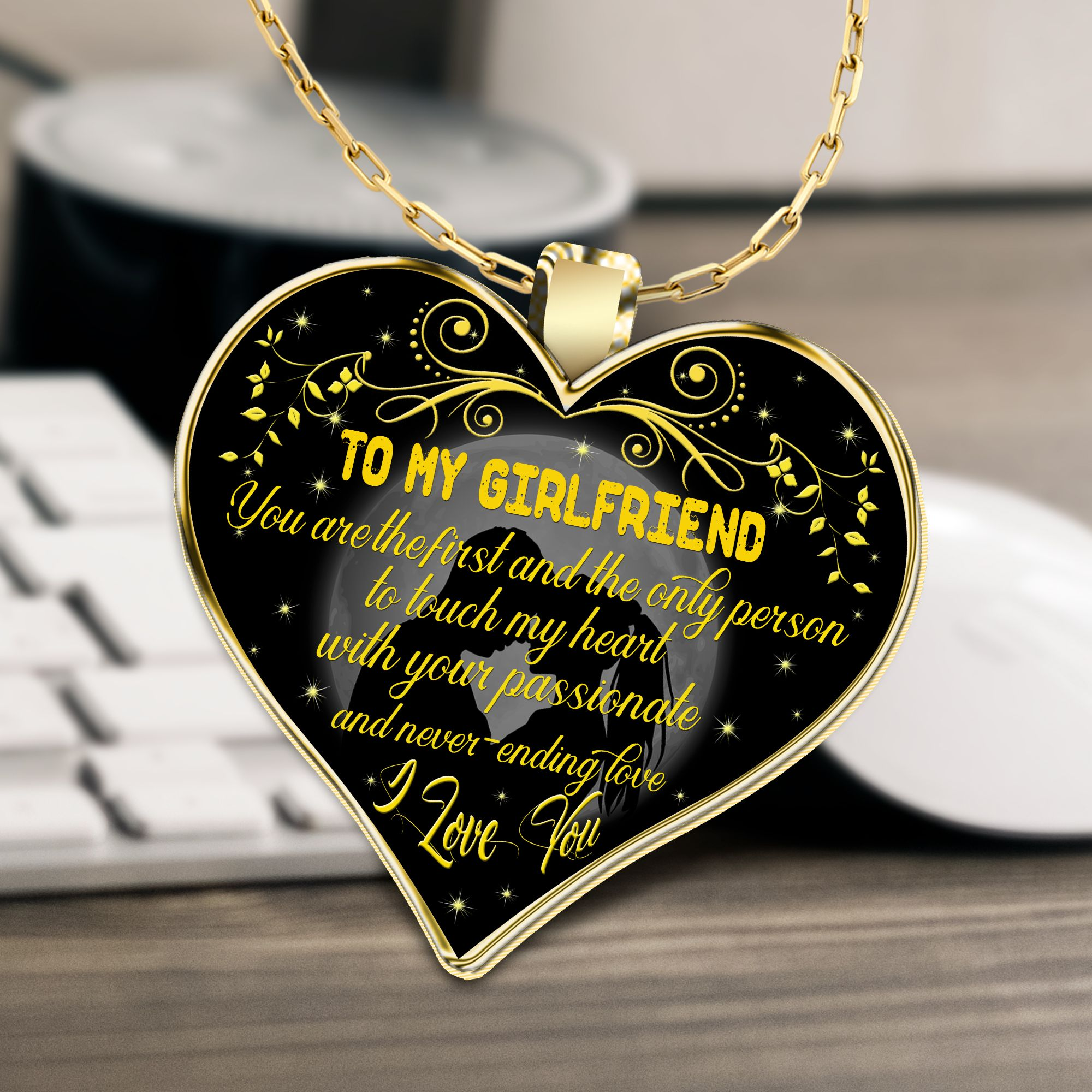 to my girlfriend necklace, girlfriend necklace, best gifts ...