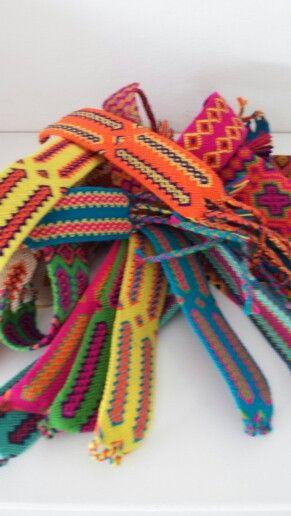Wayuu Bandjes Sabimoda Wayuu Friendship Bracelets Tapestry