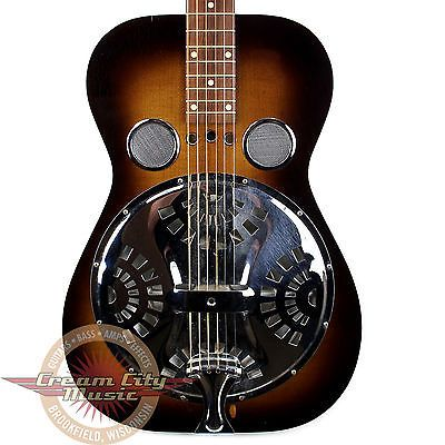 1980 Dobro Model 60 Resonator Acoustic Guitar In Sunburst Finish - http://www.dobroguitar.org/for-sale/1980-dobro-model-60-resonator-acoustic-guitar-in-sunburst-finish/22712/