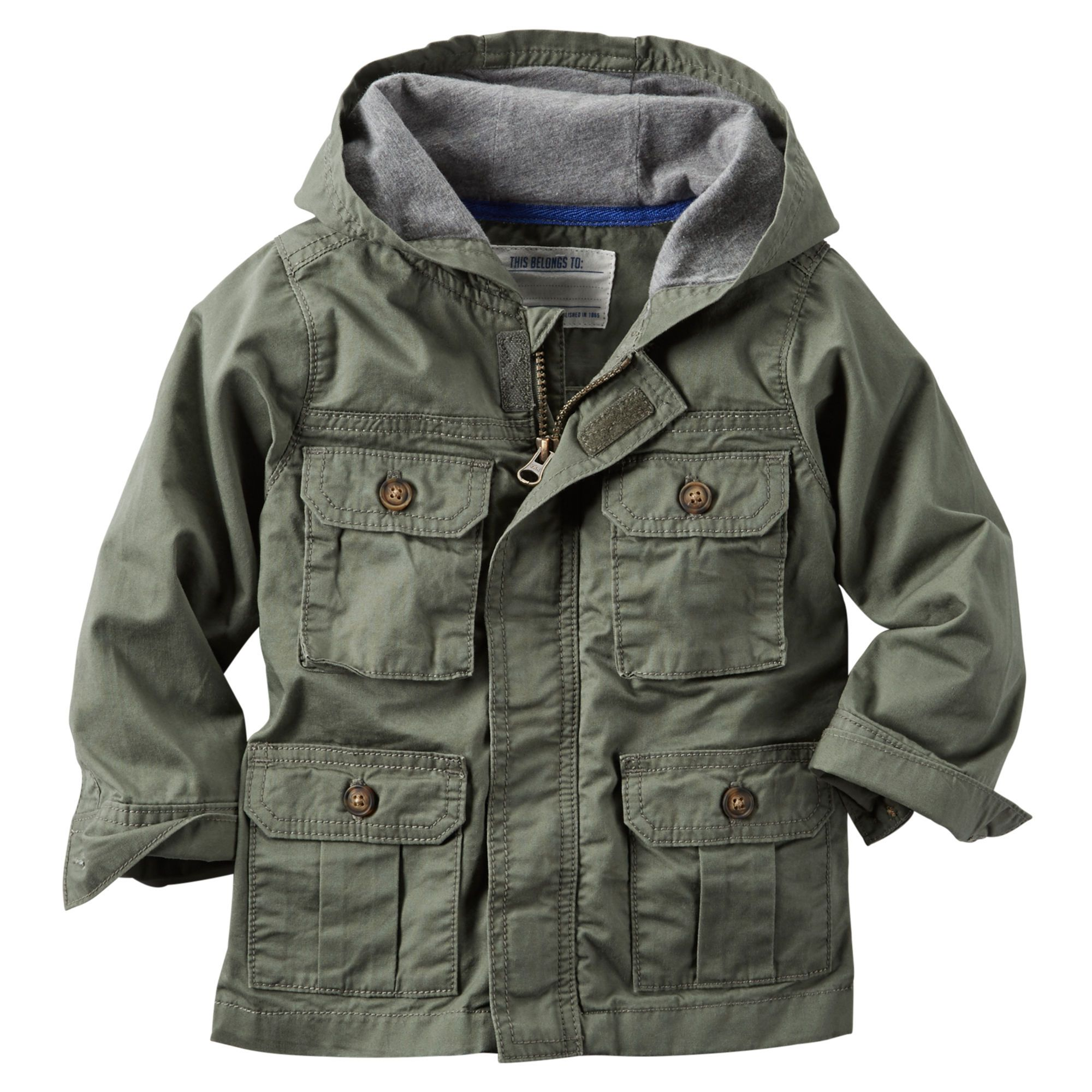 hooded twill cargo jacket cargo jacket baby boy stuff and babies #2: 159b58fa64a795f9e9e4f25e5140de70