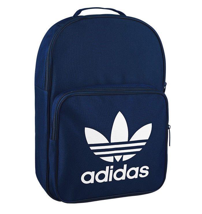 8ea220543398 adidas Originals Essential Casual Backpack Trefoil Khaki School Bag Sport  BQ8114  adidas  Backpack