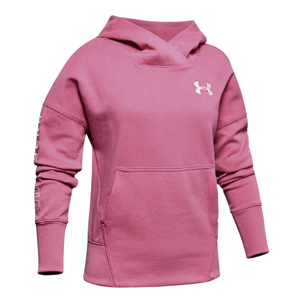 Under Armour Girls Double Knit Hoody