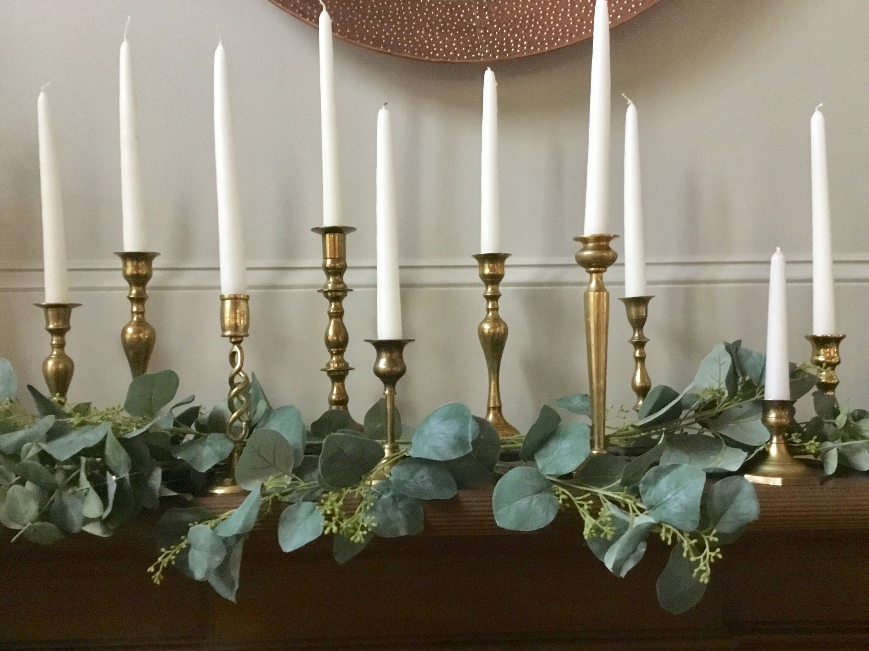 romantic decor pressed flowers candleholder romantic gift Shabby candleholder rustic glass candleholder decor
