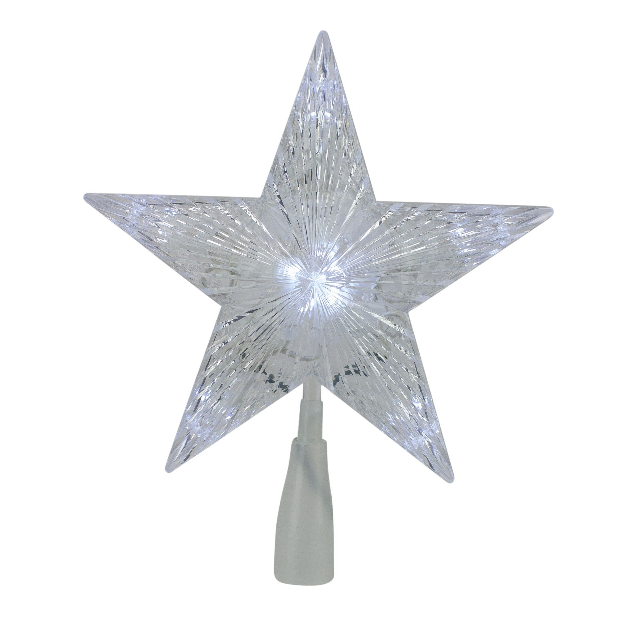 """Northlight 10"""" LED Lighted 5 Point Star Christmas Tree"""