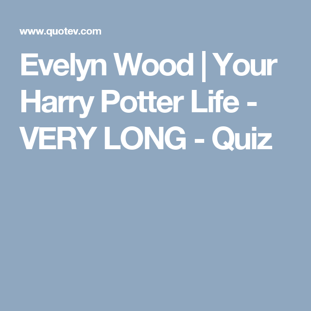 Your Harry Potter Life - VERY LONG | Wizarding World of