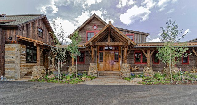 magnificent rustic home exterior designs you will immediately fall in love with also rh pinterest