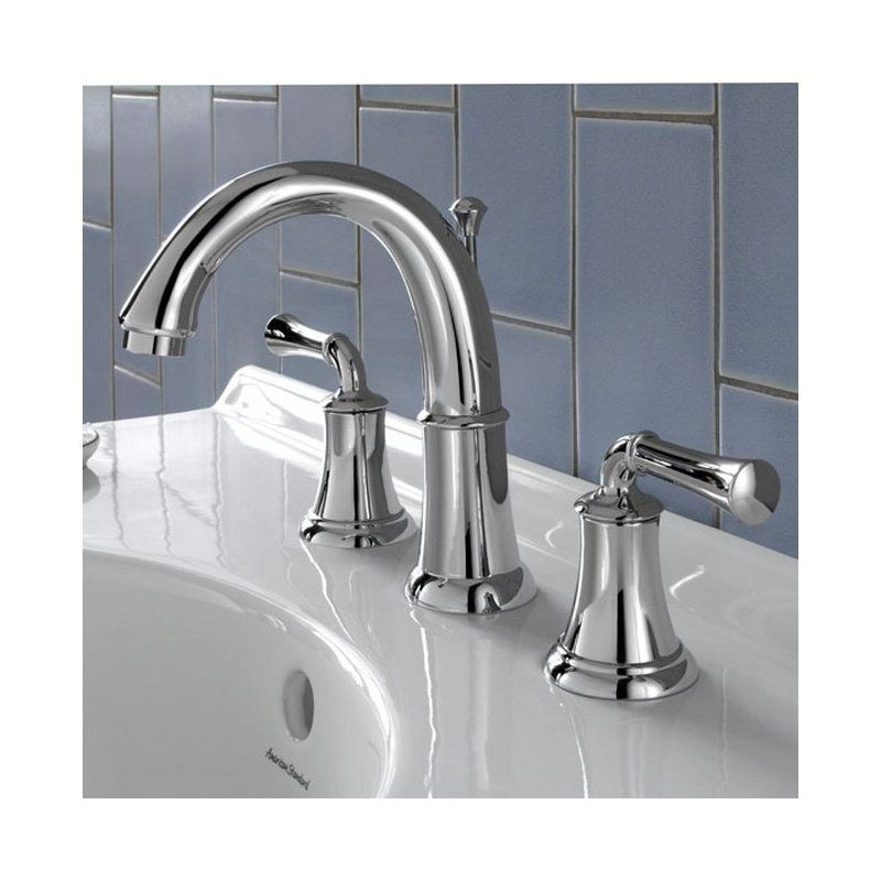 American Standard Portsmouth Widespread Bathroom Faucet with Double ...