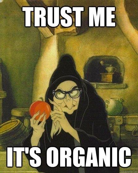 organic...