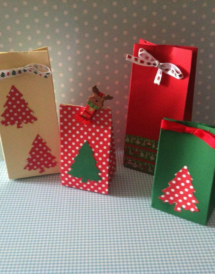 Bolsas ideas para decorar pinterest navidad - Envoltorios regalos originales ...