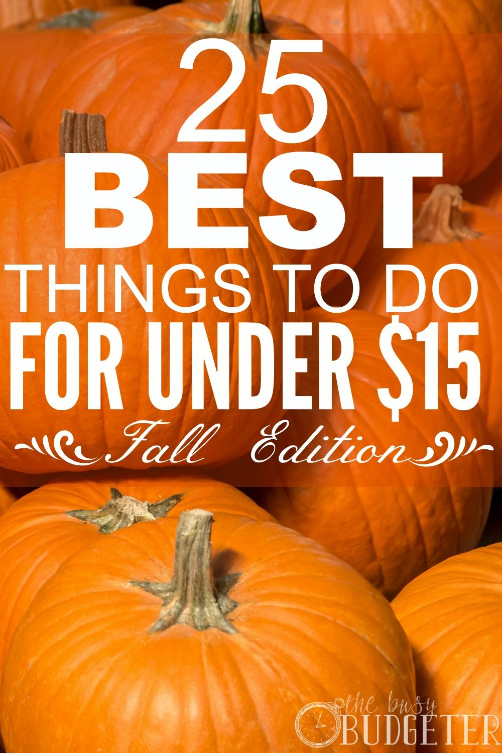 25 of the best things to do in the fall for under $15 | the busy