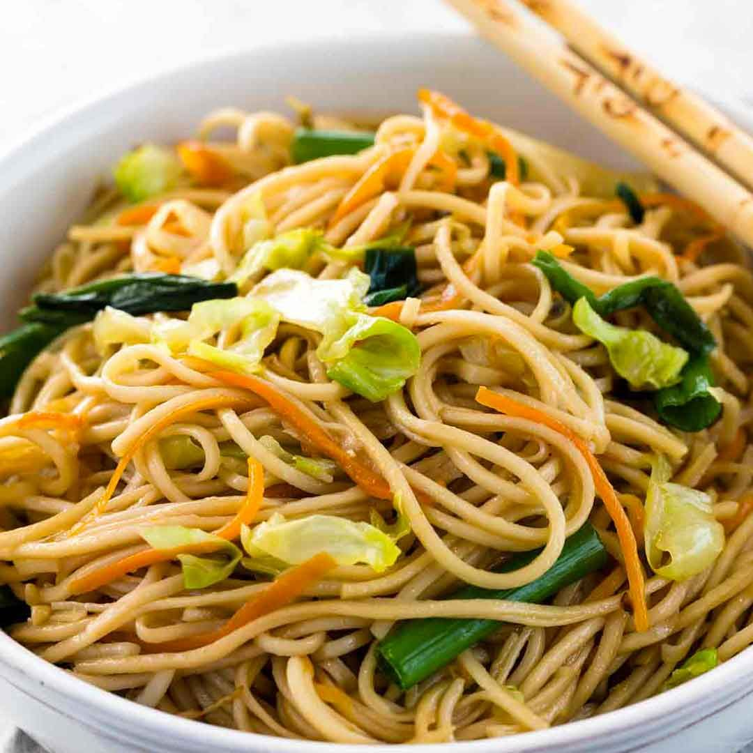Chow Mein #howtostirfry