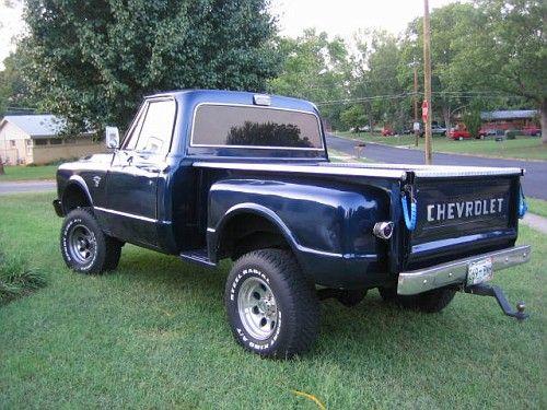 70 Chevy Stepside 4x4 72 Chevy Truck Classic Chevy Trucks Trucks