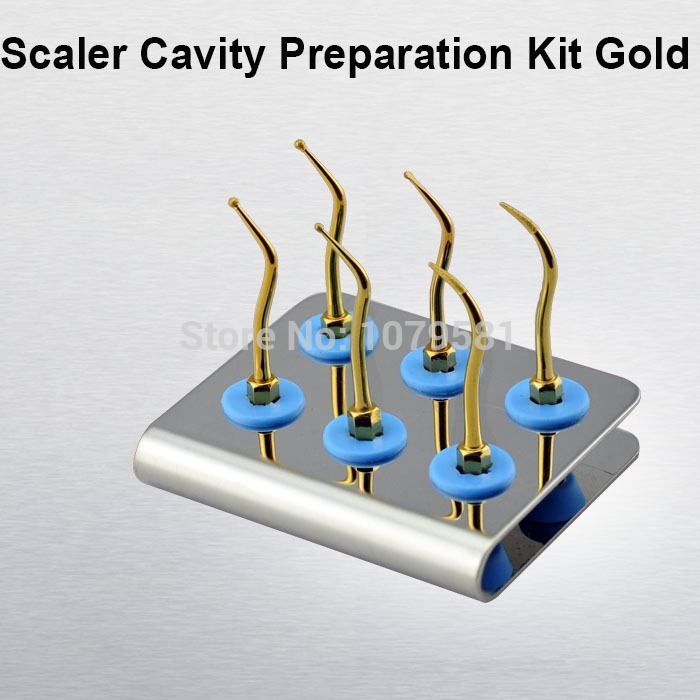 (81.59$)  Know more - http://aiiri.worlditems.win/all/product.php?id=32302401731 - 1 set KACKG scaler cavity preparation kit dental clening kit for scaler kavo nsk sirona komet dental tools